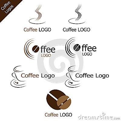 Free Coffee Logos Stock Photography - 13989382