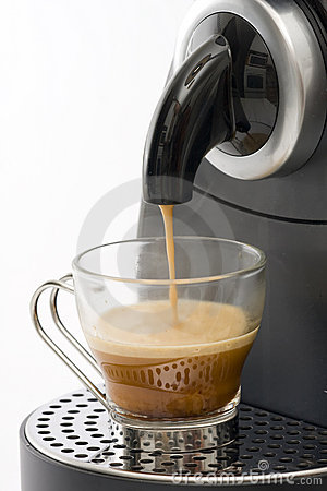 Coffee Machine Royalty Free Stock Photography - Image: 7941297