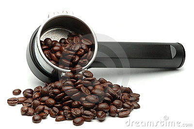 Coffee Maker And Beans