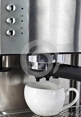 Coffee Maker And Cup Royalty Free Stock Photos - Image: 26601518
