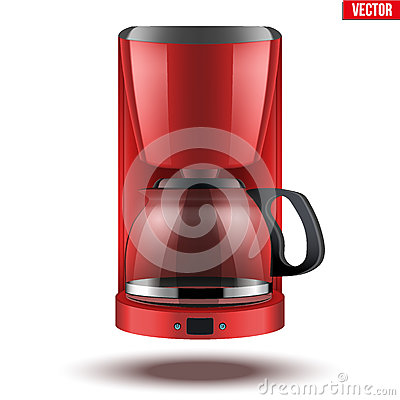 Free Coffee Maker With Glass Pot. Royalty Free Stock Image - 78266286