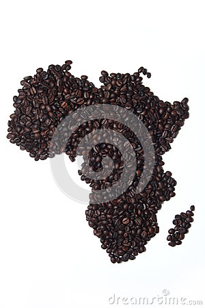 Coffee Map Africa