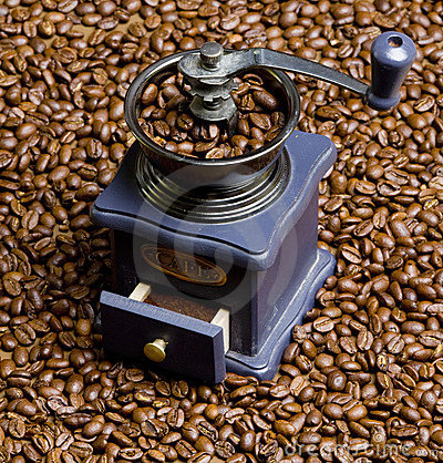 Free Coffee Mill Royalty Free Stock Image - 13970246
