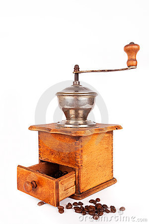 Free Coffee Mill Royalty Free Stock Photo - 14563275