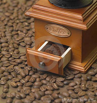 Free Coffee Mill Royalty Free Stock Images - 14812389