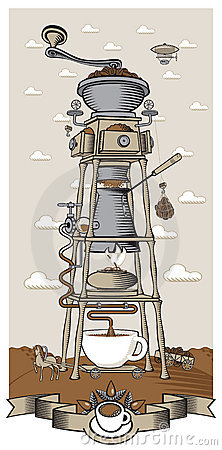 Free Coffee Mill Royalty Free Stock Image - 22027886