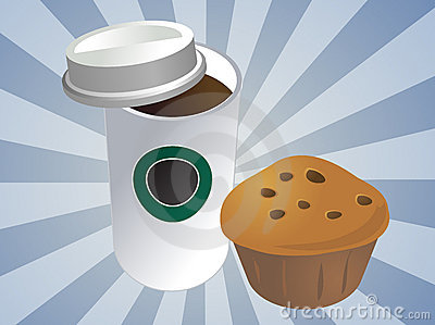 Coffee and muffin
