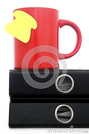Coffee Mug and Note
