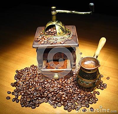 Coffee naturmort