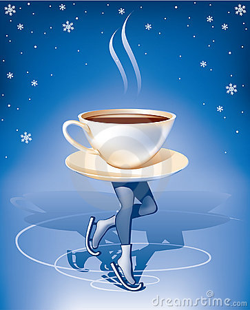 Free Coffee On Ice Royalty Free Stock Image - 17835386
