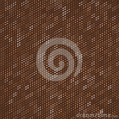 Coffee pattern background