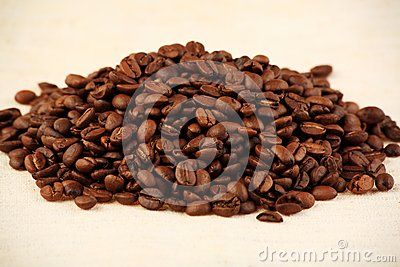Coffee pile