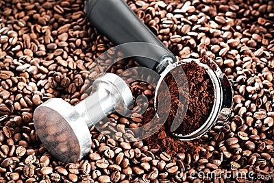 Coffee portafilter