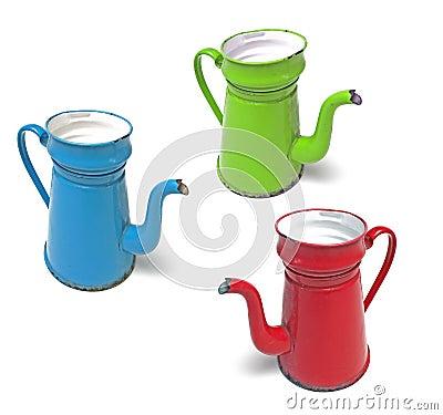Coffee pot madam blue