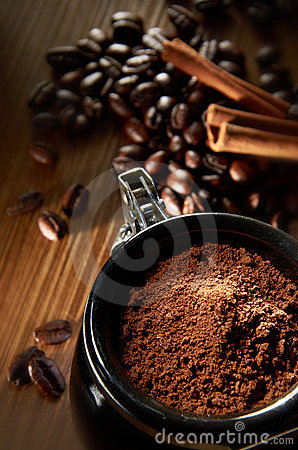 Free Coffee Powder Stock Photos - 21928383