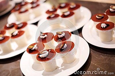 Coffee pudding cake