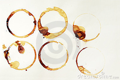 Coffee rings