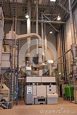 Coffee roasting plant