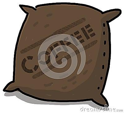 Coffee Sack illustration