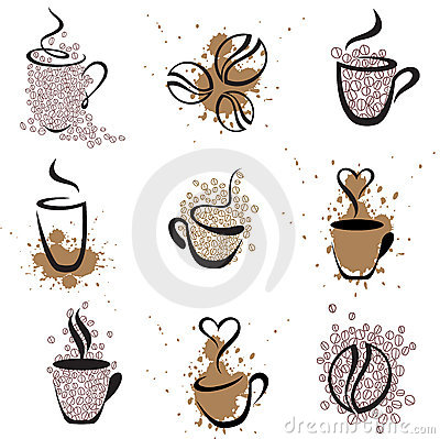 Free Coffee Set 1 Stock Images - 7337354