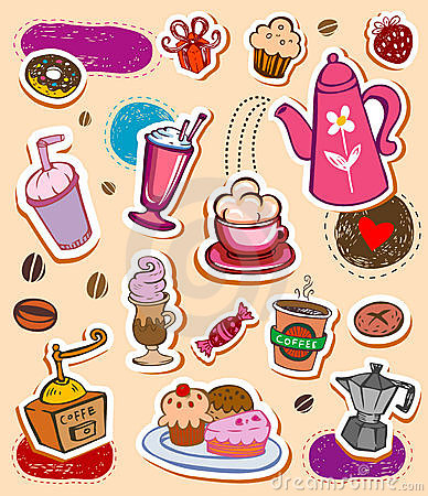 Free Coffee Set Stock Image - 16665211