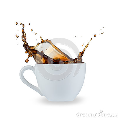 Free Coffee Splash Royalty Free Stock Image - 31679246