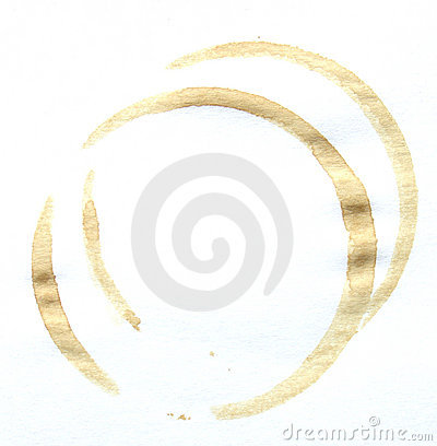 Free Coffee Stain Royalty Free Stock Photography - 442207