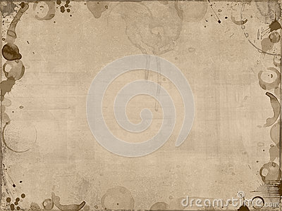Coffee stains background