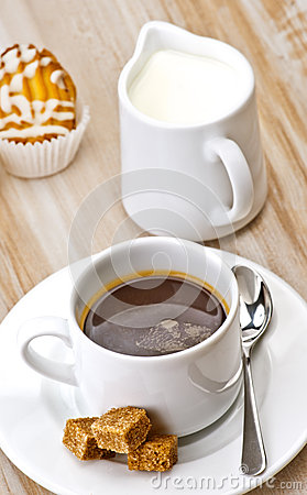 Free Coffee, Sugar, And Cakes Royalty Free Stock Images - 24651009