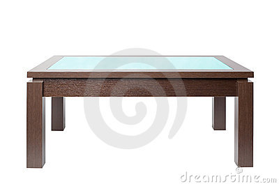 Coffee table in wood