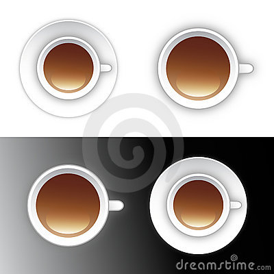 Coffee or tea cup icon design