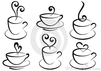 Coffee and tea cups,