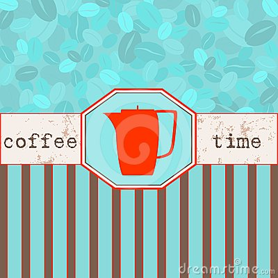 Coffee time menu