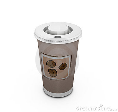 Free Coffee To Go Royalty Free Stock Photos - 1064518
