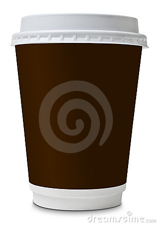 Coffee to go paper cup