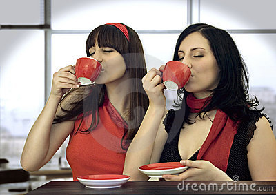 Coffee Together 5 Stock Image - Image: 5049711