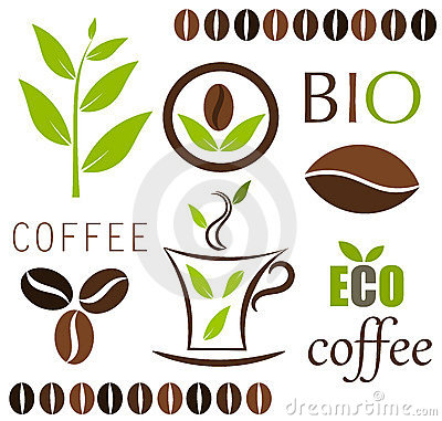 Coffee vector elements