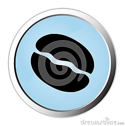 Coffee web button