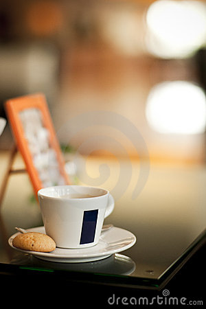 Free Coffee With Cookie Royalty Free Stock Photo - 18156515