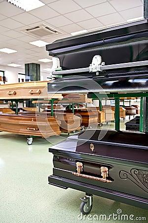 Coffin store