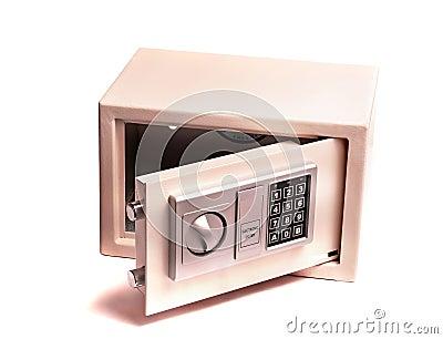 coffre fort lectronique de maison ou de bureau images stock image 13423394. Black Bedroom Furniture Sets. Home Design Ideas