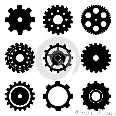 Free Cog Wheel Set Royalty Free Stock Images - 24447739