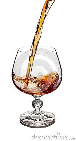 Cognac glass.