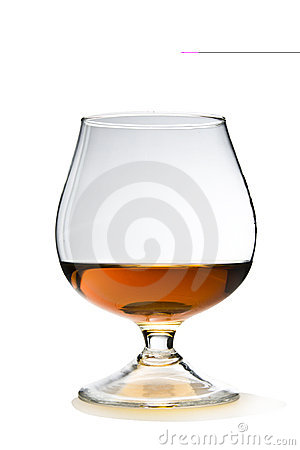 Free Cognac With Path Royalty Free Stock Photography - 13075737