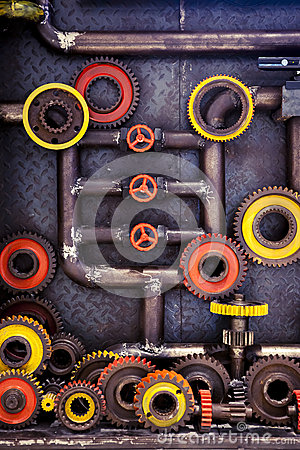 Free Cogs And Pipes Stock Photography - 49661152