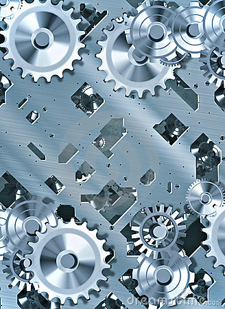 Cogs and clockwork machinery