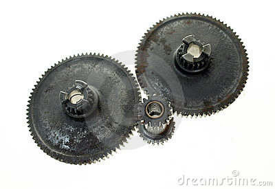 Cogs, gears, networking isolated