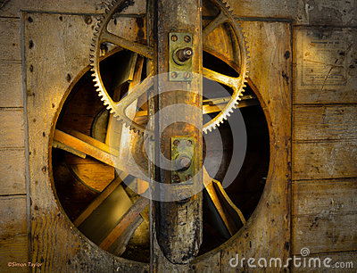 Cogs, Gears, Old Water Mill