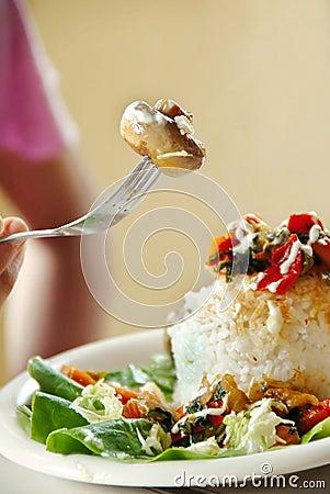Cogumelo apetitoso