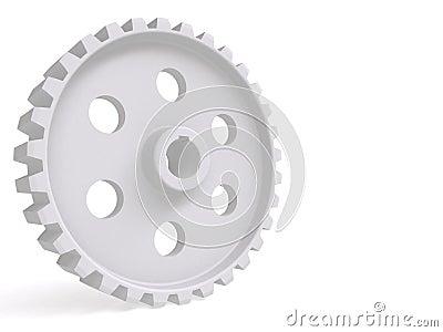 Cogwheel 3d